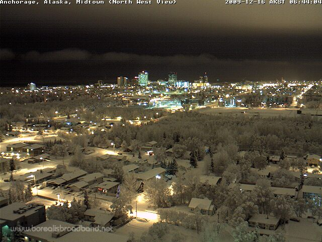 Anchorage Downtown, click for live image