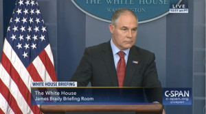 EPA Chief Scott Pruitt